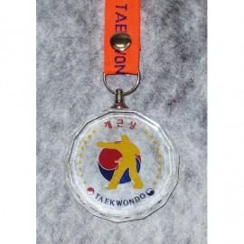 크리스탈 메달 [개근] 수량:1개